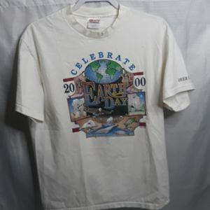Vintage 1996 Earth Day t shirt